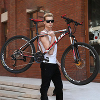 High carbon steel 27 speed 26 inches Wheel Material whole sale bicycle Mountain bike