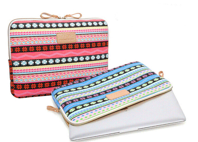 2171629c09aa US $8.57 |Pop kinmac fashion Bohemia laptop sleeve bag case cover for women  ipad apple MacBook air pro 11 12 13 14 15 inch tablet notebook-in Laptop ...