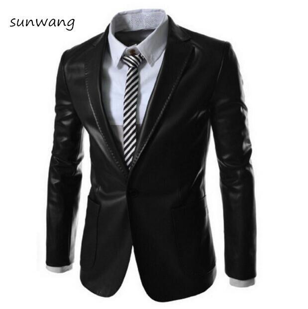 0d7e74383740 2035.26 руб. 9% СКИДКА 2019 Мода Новый стиль Модные мужские кожаные куртки  пальто ...