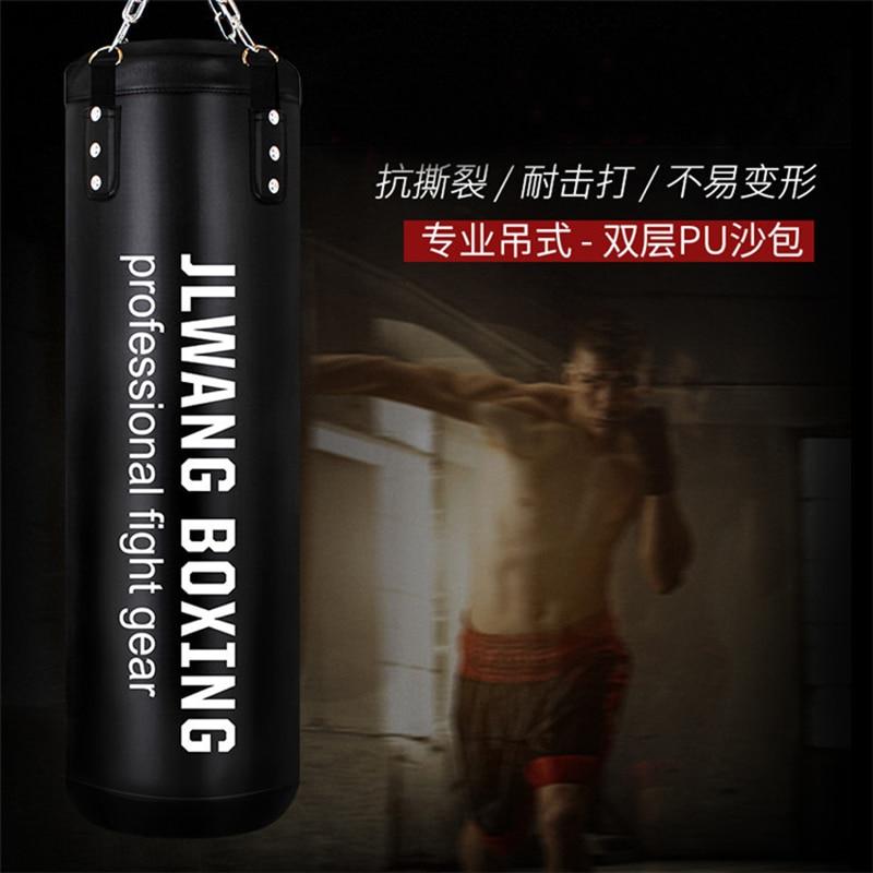 Punching Bags Boxing Striking Drop Hollow Canvas Sand Bag Training Equipment