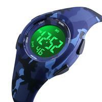 Skmei Kids Watch Digital Sport Children's Watches Girls Boys Student Camouflage Auto Date Alarm Chrono Waterproof Wristwatch