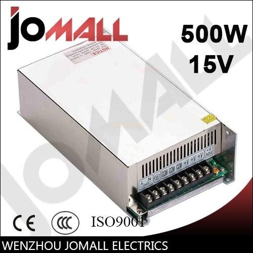 цена на 500w 15v 32a Single Output switching power supply
