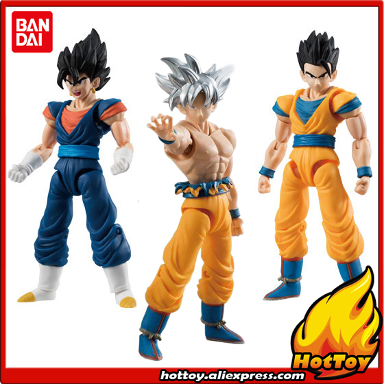 100% Original BANDAI SHODO Vol.6 Action Figure - Son Goku Ultra Instinct & Gohan & Vegetto (9cm tall) from Dragon Ball SUPER ned davis being right or making money page 5