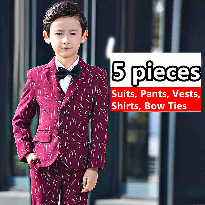 7321cf742f Boys Suit Big Children S Baby Piano Performance Dress Boy Korean Male New  Spring Autumn Boys Suits For Weddings Terno Infantil -in Suits from Mother    Kids ...