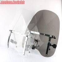Large 19x17 Windshield For Honda Magna Shadow Spirit Sabre 600 750 1100
