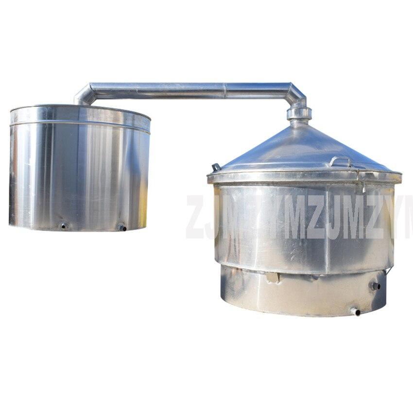 2100L Large Commercial Professional Wine Brewing Equipment Aluminum Liquor Distillation Wine Making Machine 950 Type 2
