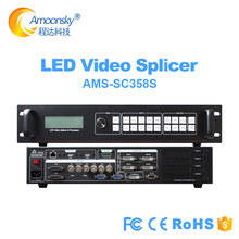 4K sdi video wall controller SC358S for indoor rental LED large screen P3.91 support 4 sending card nova msd300