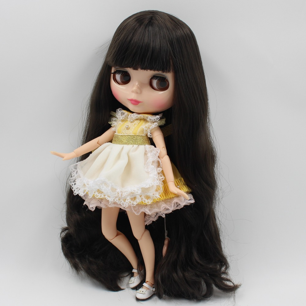 Neo Blythe Doll Yellow Apron Suit 2