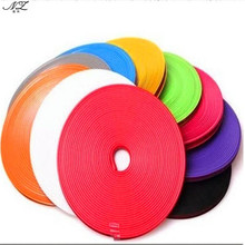 Car Wheel Hub Tire Sticker Decorative Styling Strip Wheel Rim Tire Protection Care Covers Auto Accessories Parts 8 Meter/Roll