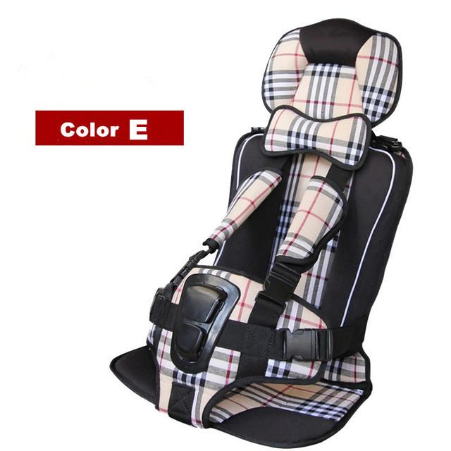 Barato Assento de Carro Do Bebê Portátil Criança Segura Assento de Carro Crianças Segurança Assento de carro 7 Cores Para Crianças de 0-36 KG Crianças Carseat Capa Harness
