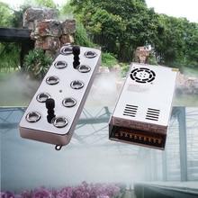 10 head Ultrasonic mist maker fogger humidifier Facial mist sprayer Industry humidificador Aeromist Hydroponics +transformer