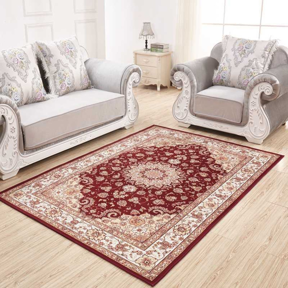 Modern Living Room Persian Rug Us 7 14 32 Off Persian Style Simple Modern Pastoral Rectangular Full Piece Ground Mat Carpet Rug For Living Room Sofa Tea Table Bedroom Bedside In