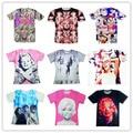TLC Girls Team Band/Marilyn Monroe/rihanna print 3d t shirt Harajuku t-shirt women/men street wear camisetas plus size S-XXL