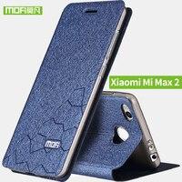 Xiaomi Mi Max 2 Case Soft Silicon Back Flip Leather Cover Mofi Original Xiaomi Mi Max2