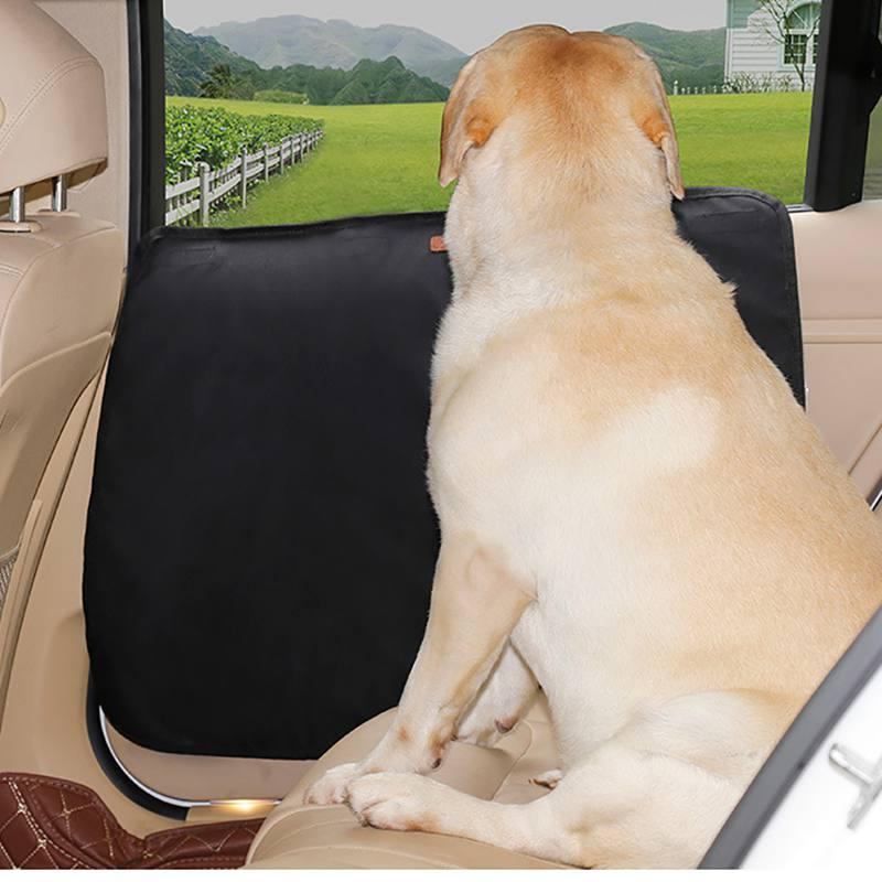 Dog Safe Door Cover Prevent Claw Scratch Car Door Protector for Pets Oxford Cloth Protective Mat Pet Dog Accessories