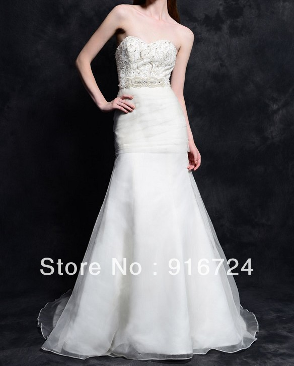Duchess satin wedding dress reviews online shopping for Wedding dresses with royal length train
