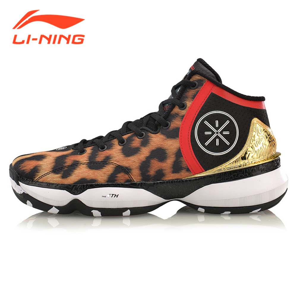 Li-Ning Men Professional Basketball Shoes Brand Sneakers Wade Series Sports Bounse Lace-up Style Shoes LiNing ABAM017 li ning brand men basketball shoes sonicv series professional camouflage sneakers support lining breathable sports shoes abam019