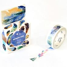 1Box New The Flying Feather Decorative Washi Tape Diy Scrapbooking Masking Tape School Office Supply Escolar Papelaria