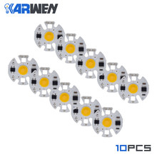 KARWEN 10PCS LED COB lamp Chip Bulb Y32 3W 5W 7W 9W Real Power Input IP65 For Outdoor LED Bulb FloodLight Cold Warm White 220V(China)
