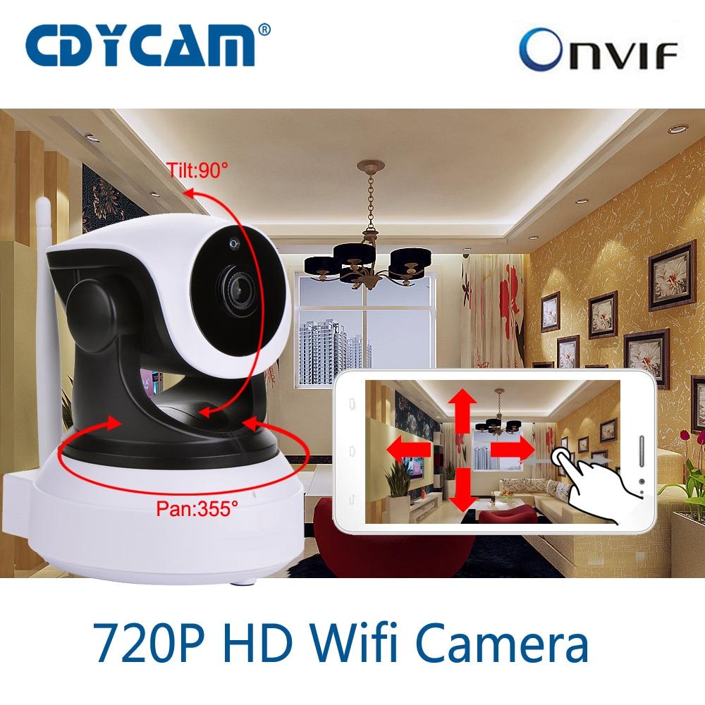 CDYCAM C7824WIP HD 720P Wireless WiFi IP Camera Use Eye4 APP Indoor Home Security Network IP