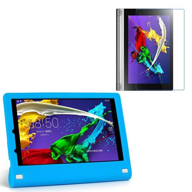 1x selge ekraani kaitsja, luksuslik silikoonist pehme kaas Tagasihoidlik silikoonkott Lenovo YOGA 10-le Tablet2 tablett 2 1050F 1050