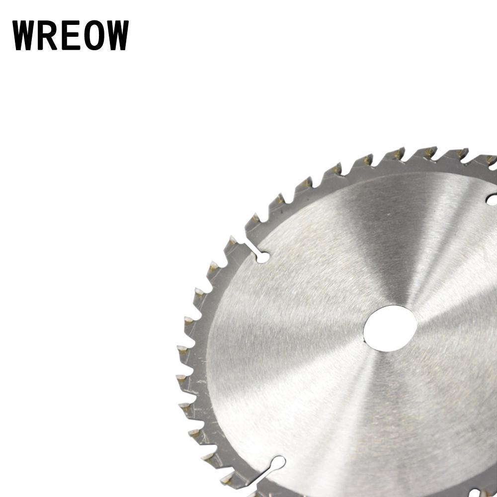 165mm 40T 20mm Bore Circular Saw Blade Disc for Wood Metal Cutter Tool GOOD