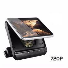 10.1 дюймов подголовник автомобиля монитор TFT Экран ультра-тонкий нажатием кнопки подголовник автомобиля dvd-плеер с HDMI Порты и разъёмы USB/SD/IR