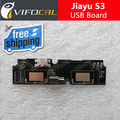 Jiayu S3 placa usb + Mic Microfone 100% Original Novo Celular Substituição Assembléia Reparação parte jiayu s3 Acessórios de Fixação