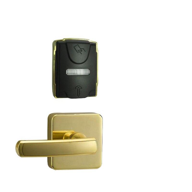 Serrure de porte numérique sans clé RF serrure de carte de clé d'hôtel
