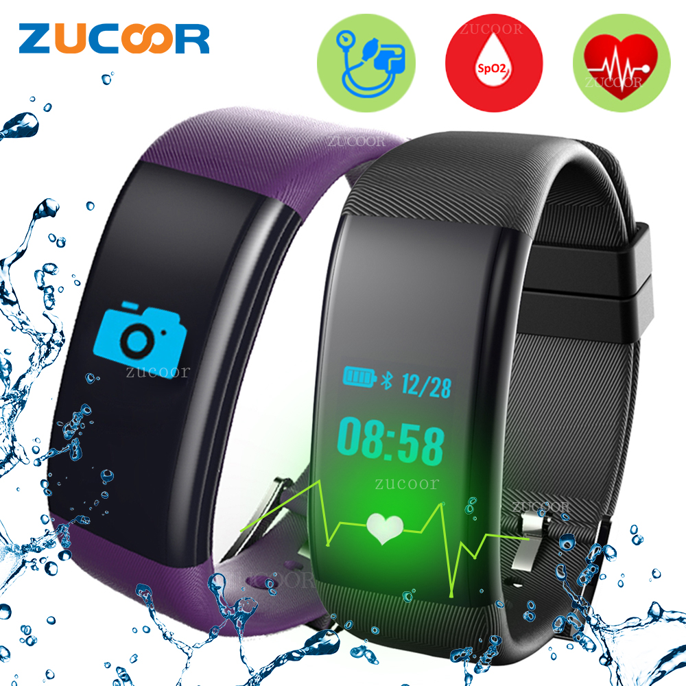 Smart Bracelet Band Blood Pressure Oxygen DF30 Swim IP68 Watch Heart Rate Monitor Fitness Tracker Pedometer