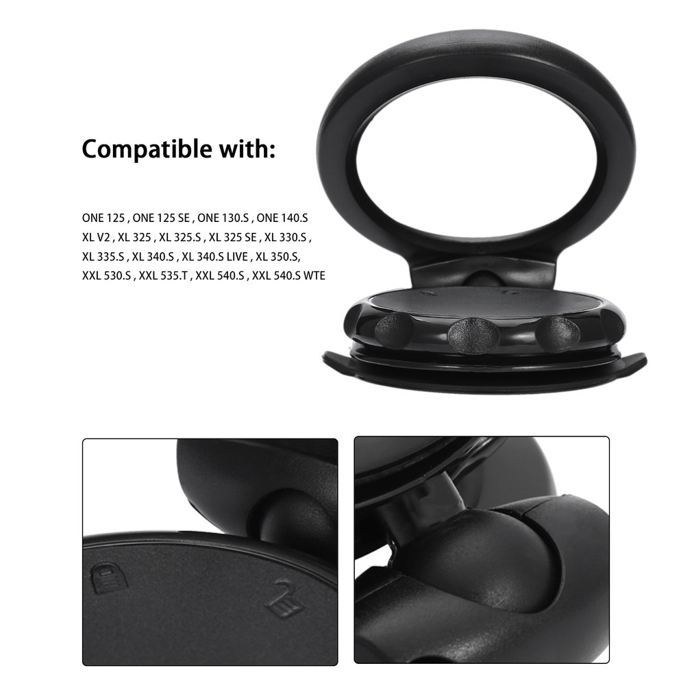 Car Windshield Mount Holder Suction Cup for TomOne 125 130 140 XL 325 335