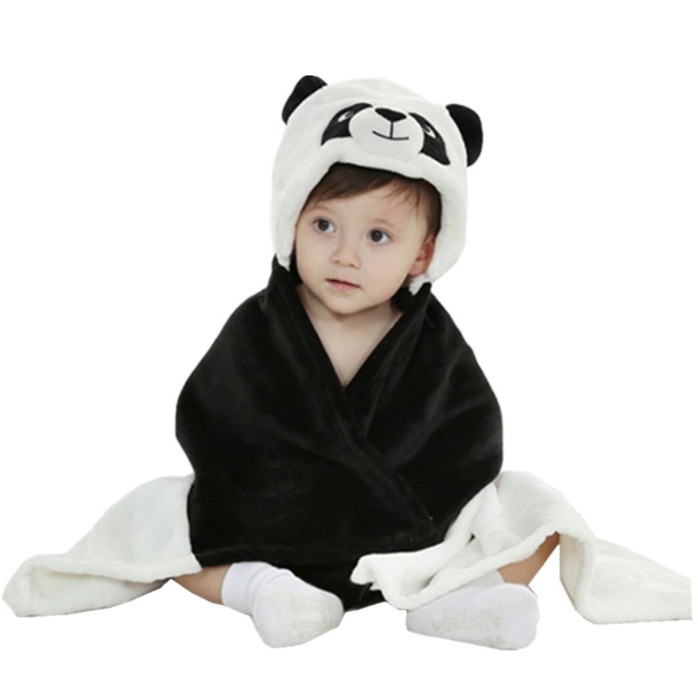 DOUBCHOW Baby Girls Boys Infant Costume Hooded Animal Cloak New Born Toddler Receiving <font><b>Blanket</b></font> for Baby New Born to 24 months