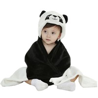 Unisex Baby Cute Animal Cloak New Born Baby Toddler Receiving Blanket For Baby Age New Born
