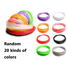 Drawing Toys,20 pcs 3D printed pen supplies wire filament PLA Printer Print 5M printing consumables smoother No odor, no bubbles