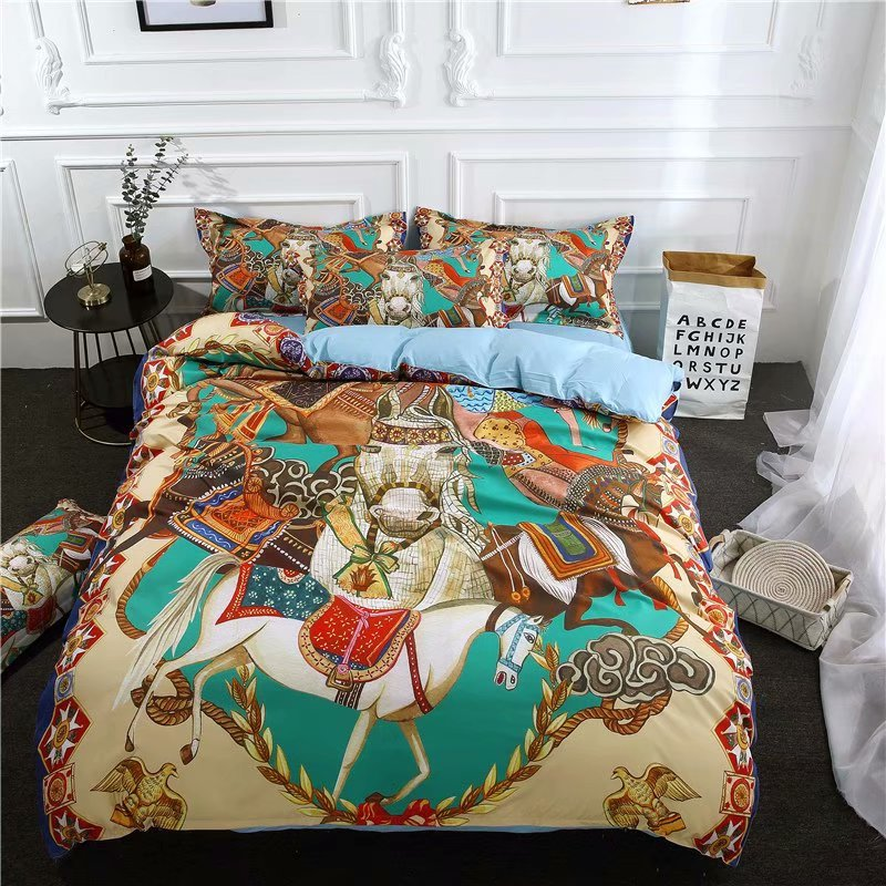 US 46 9 33 OFF Cheap Bohemian Baroque Bedding Set Queen Size Cheap Duvet Cover Bed Sheets With Pillowcase In Bedding Sets From Home Garden On