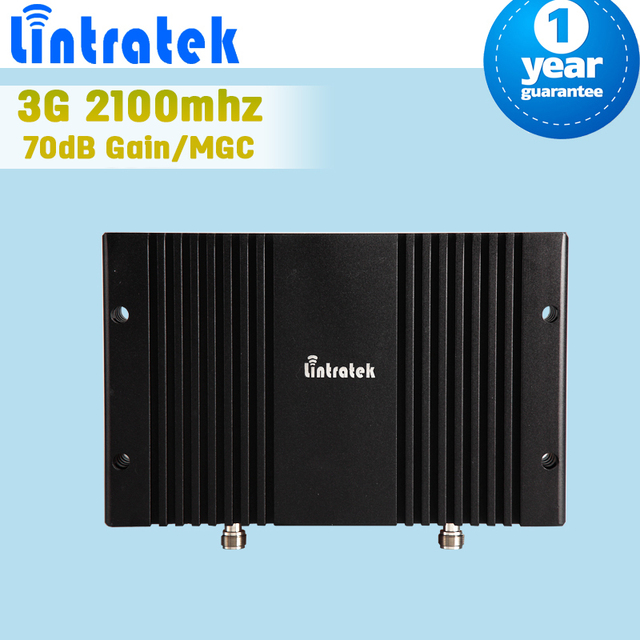 LCD Display 3G WCDMA 2100mhz Mobile Signal Booster 70dB Gain Cellphone Repeater 3G UMTS 2100 Amplifier Repetidor De Celular