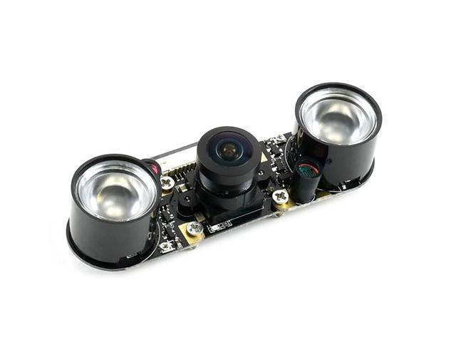 كاميرا Waveshare IMX219 160IR ، 160 درجة FOV ، الأشعة تحت الحمراء ، قابلة للتطبيق على جيتسون نانو