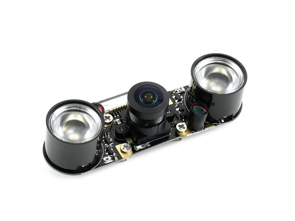 Waveshare IMX219-160IR Camera, 160 Degree FOV, Infrared, Applicable For Jetson Nano