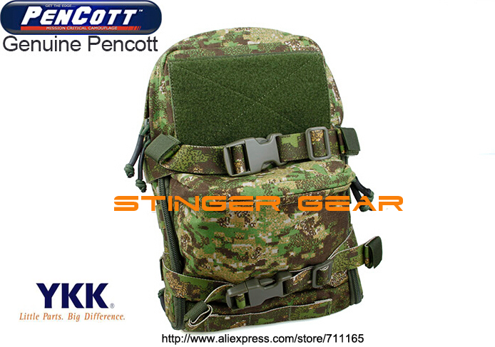 TMC Mini Hydration tactical pouch MOLLE PenCott GreenZone JPC Hydration Pack+Free shipping(SKU12050219)