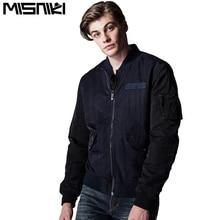 Misniki men bomber jacket casual military style stand collar outwear jaqueta masculino M-3XL XP37