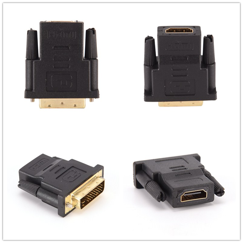 Высокое качество 1 шт. DVI D DVI 24 + 1 Dual Link Мужской к HDMI Женский адаптер конвертер разъема для ПК PS3 ТВ проектор коробка| |   | АлиЭкспресс
