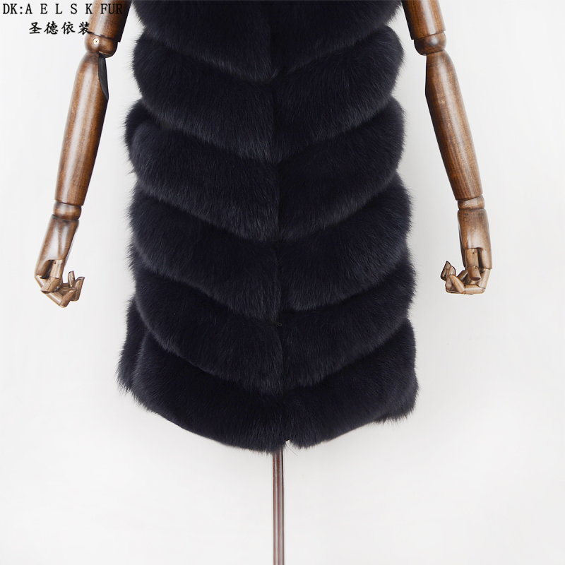 Fragrant Renard Herbe Dames Et Casual Manteau Gris Européen Mode Pour Fourrure Américain Nouveau Gray Épaule Veste Style Vêtements Gilet De UgRnqqfdx