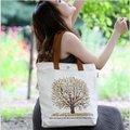 2016 freeshipping женщины цветочные женщин сумки bolsas сумки бесплатная доставка! малый осенние листья холст сумка для ноутбука