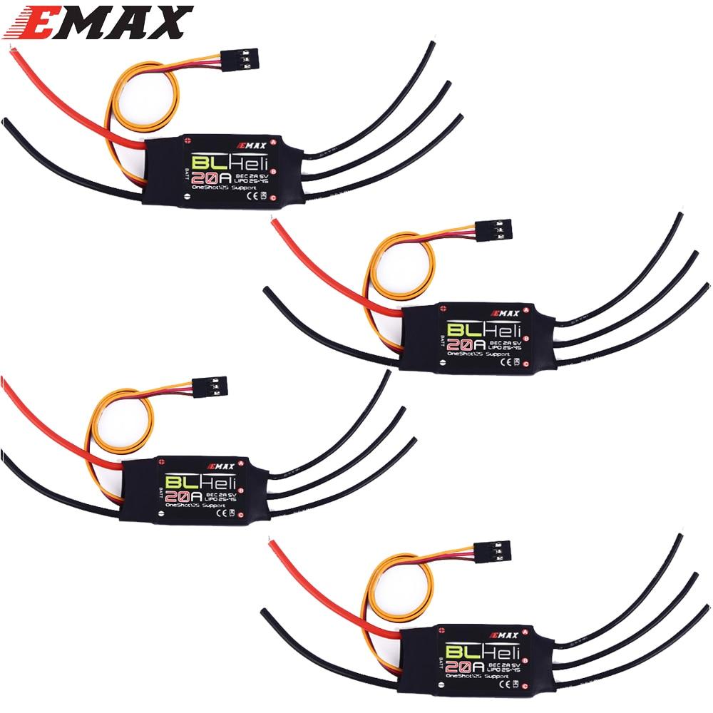 EMAX RC ESC BLHELI 20A/30A 2A/5V Electric Speed Controller For QAV250 250 FPV Quadcopter