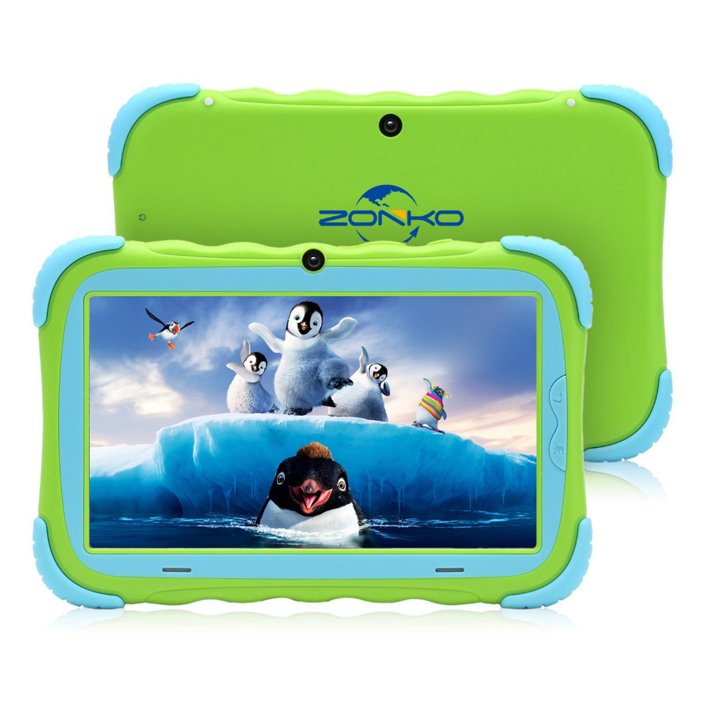 7 Inch Android 8.1 Kids Tablet 16GB Babypad Edition PC With Wifi And GMS Certified Supported Kids-Proof Case Tablet For Children