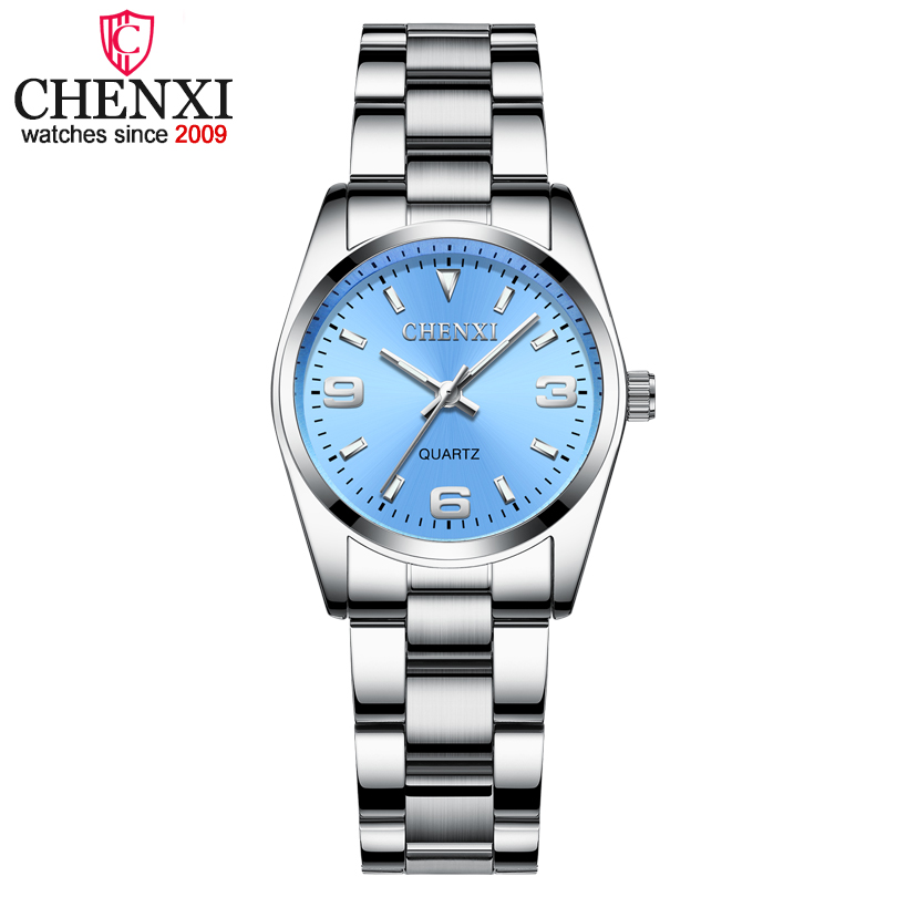 2020 CHENXI Brand Fashion Watches Women Luxury Stainless Steel Wristwatches Analog Quartz Clock Watch Women's Relogio Feminino