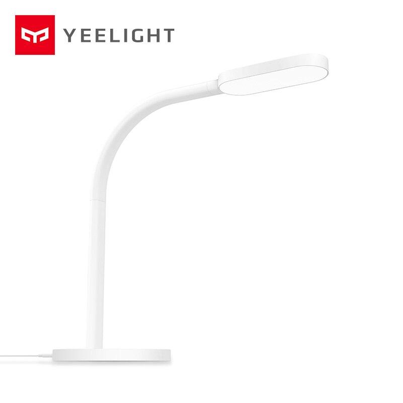 Oryginalny xiaomi yeelight Mijia lampa biurkowa led inteligentny składany dotykowy regulacja lampka biurkowa do czytania jasność światła YLTD01YL/YLTD02YL