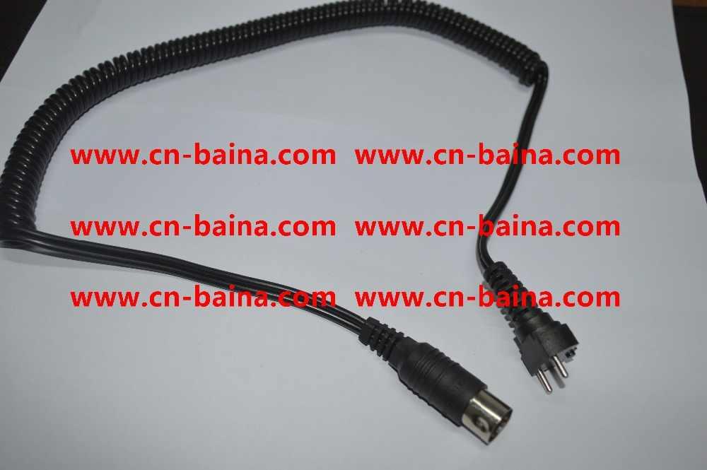 Kawat kabel micro nx motor handpiece handpiece gigi korea Selatan micronx anyxing hitam kawat garis menghubungkan komponen mikro-nx