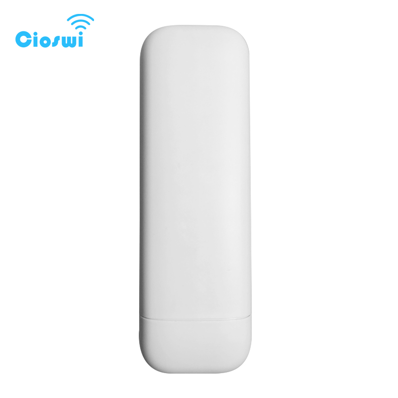 300Mbps 5.8ghz Outdoor Cpe Router Wi Fi Wireless Bridge Point To Point QCA9344 Chipset With 8dbi Antenna High Power 2 Km Range