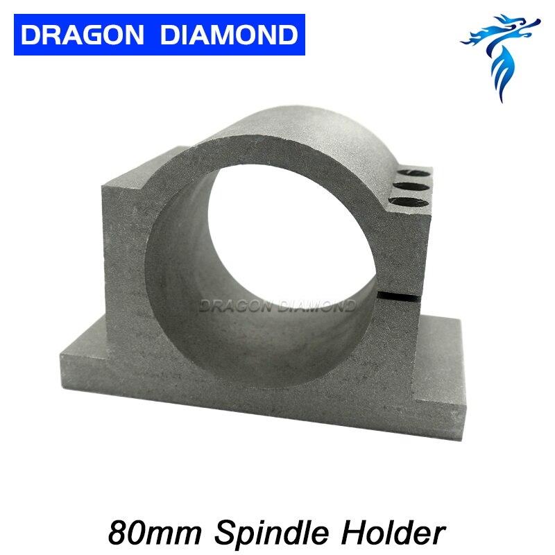 0.8KW Wasser Kühlung Spindel Motor + 1,5 W Inverter + 80mm Spindel Clamp + 80 W Pumpe + 5 M Rohre + 13 stücke ER11 - 5